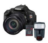 Canon EOS 60D EF-s 18-200mm IS + Speedlite 430EX Flaş + 8 GB Kart Hediyeli