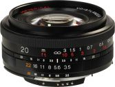 Voigtlander Nokton 20mm f/3.5 Ai-S / EF Lens