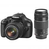 Canon EOS 1100D + 18-55mm + 75-300 + 50mm Lens Kit + 8 GB Kart Hediyeli