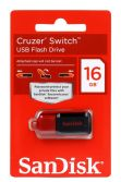 SANDISK CRUZER SWITCH 16GB USB FLASH BELLEK